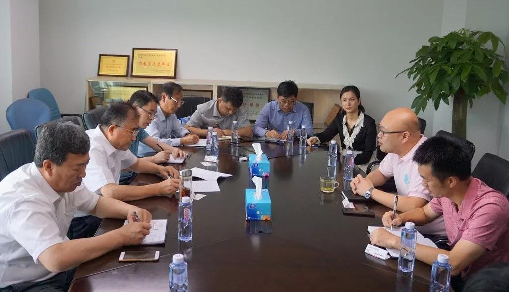 临沂理工职业学院院长张凡春率队到心里程集团考察洽谈合作
